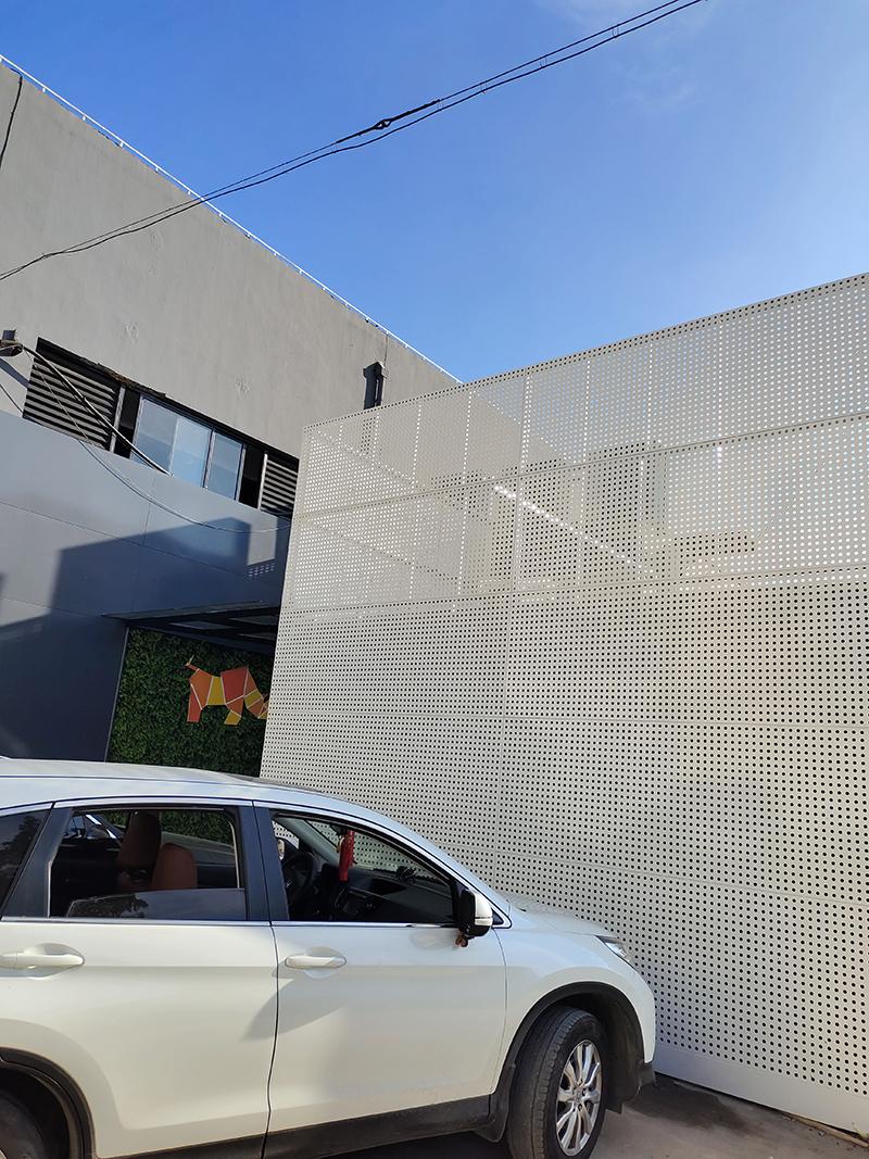 松江铝单板幕墙