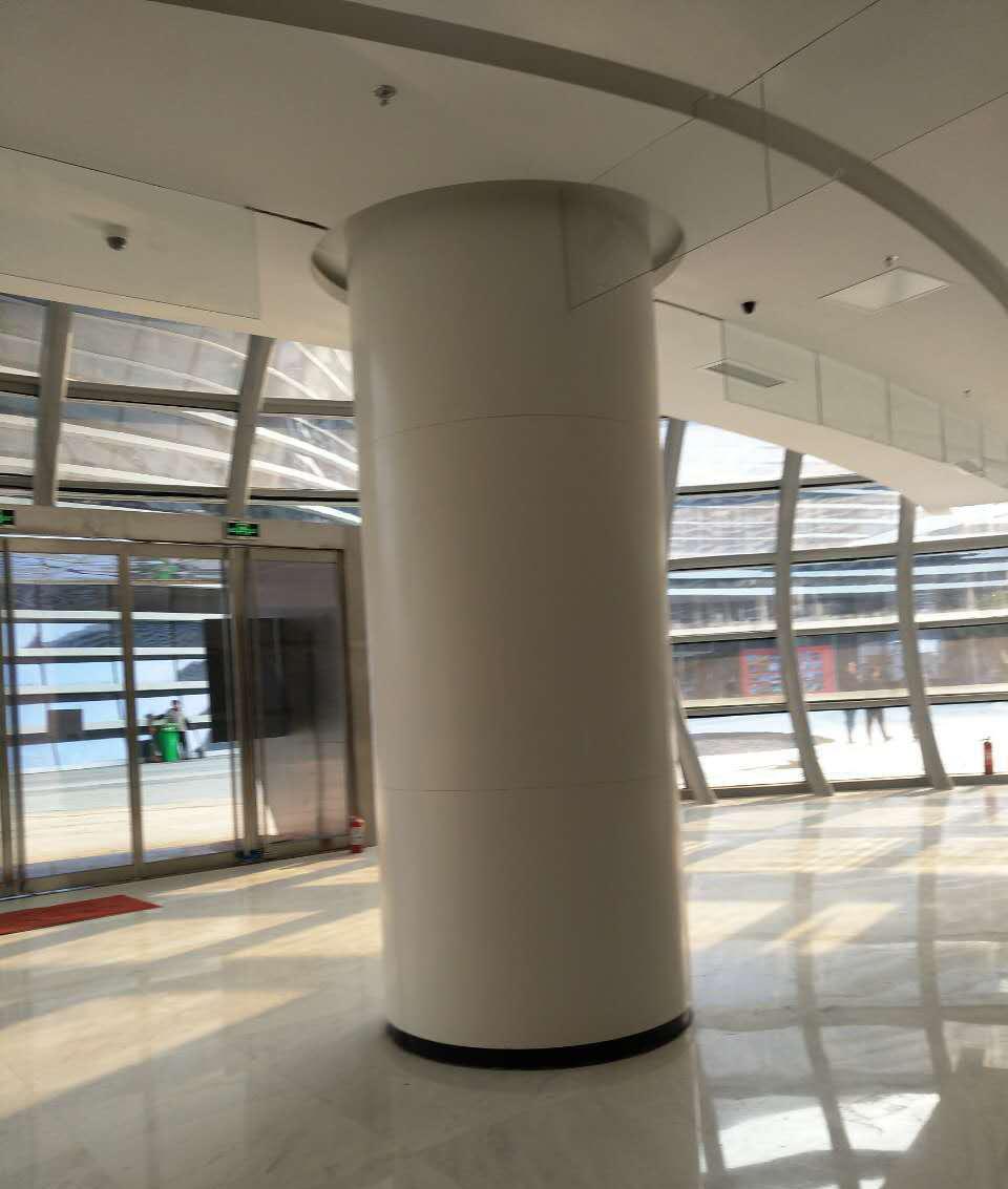 松江铝单板幕墙安装